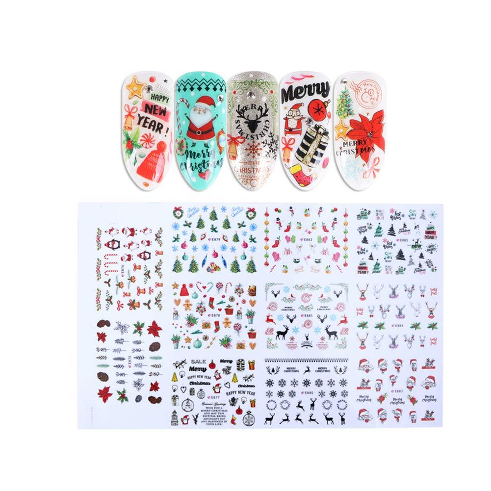 pegatina con diseño de Navidad