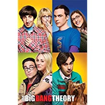 """The Big Bang Theory - TV Show Poster / Print (The Couples - Collage) (Size: 24"""" x 36"""") (Poster & Poster Strip Set)"""