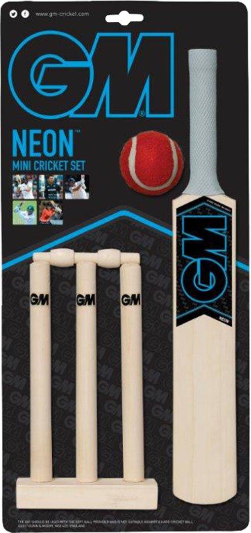 Gunn & Moore GUNN & MOORE Kinder Indoor Outdoor Match Spielen Mini Cricket Spiel Set