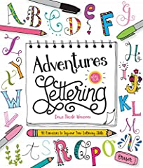 The ultimate hand-lettering workshop for young creatives! Taught by the popular and skilled hand-lettering artist Dawn Nicole Warnaar,Adventures in Letteringcombines creative self-expression and beautiful designs for an expl...