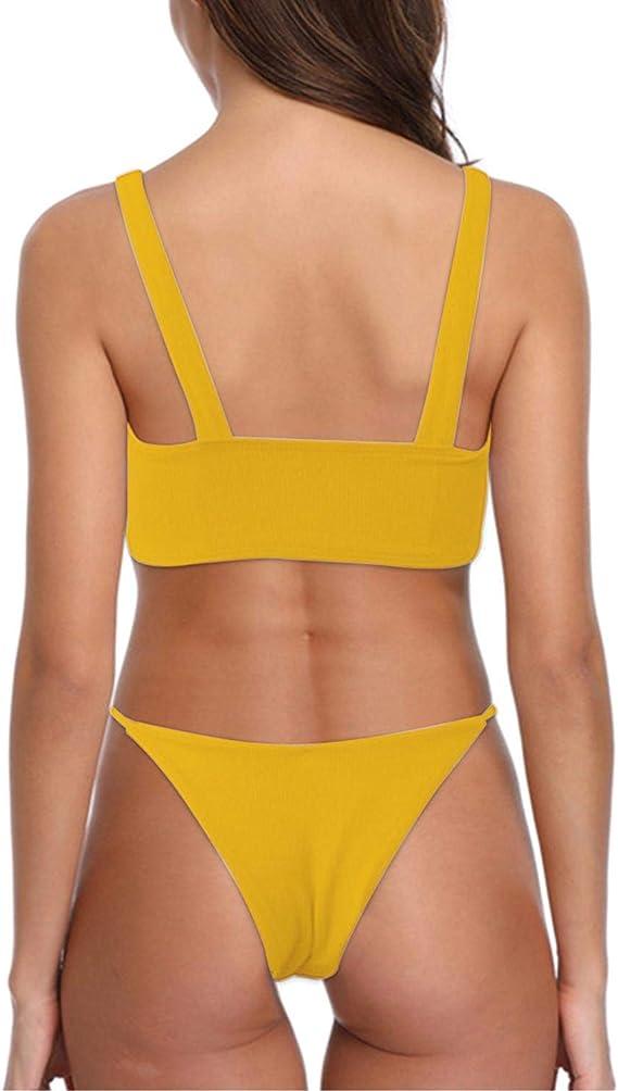 heekpek Frauen Tankini Zweiteilig Schwimmanzug Streifen Bademode Damen Strandmode Bikini Set Damen Bikini-Sets Tankini Oversize Gro/ße Gr/ö/ßen Strand Bikini Streifen Push up