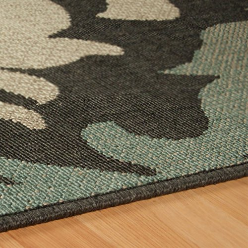 Jute Rug Dust: Superior Lowell Collection 2' X 3' Area Rug, Indoor