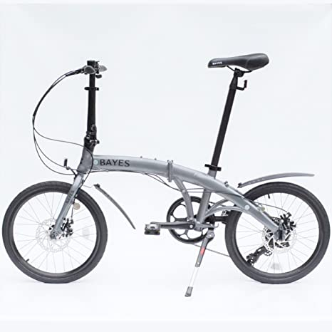 Bayes – Bicicleta plegable de aluminio Shimano, de 20 pulgadas con ...
