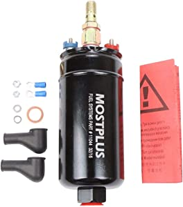 MOSTPLUS 300LPH Universal External Inline Fuel Pump Replaces for 0580254044 044
