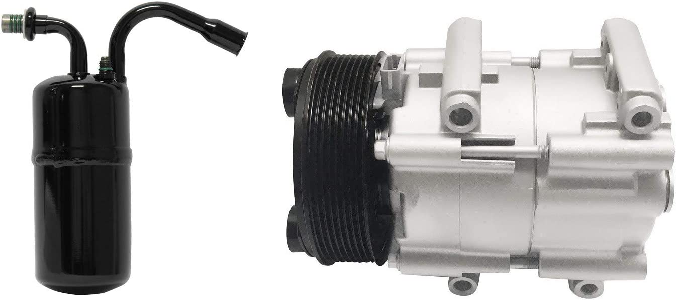 RYC Remanufactured AC Compressor Kit KT BC64