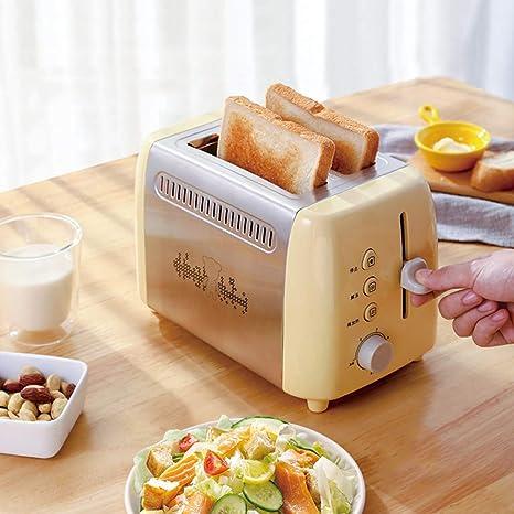 MIAO. 2-Slice Tostadora, 680W, 7 Toast Configuración de Sombra, de ...