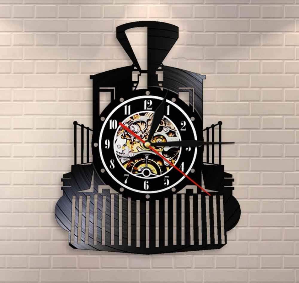New LIGHT UP Train Railroad Crossing clock USA made  More train clocks also