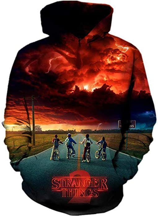 Stranger Things Men Women Autumn Winter wear Tracksuit Long Sleeve All Over Printed 3D Hooded Sweatshirt