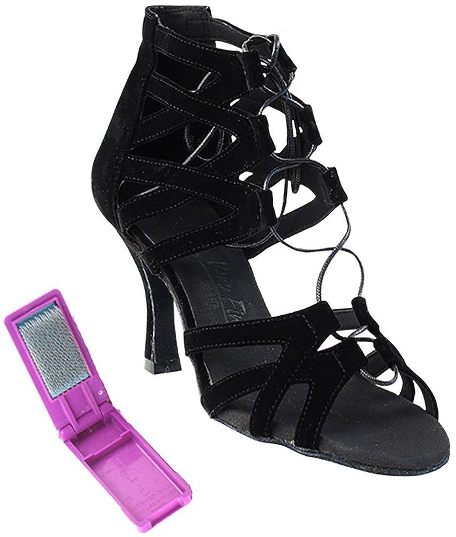 正規品! [Very Fine Dance Dance Shoes] レディース B(M) B075CYX21T レディース ブラックヌバック 10 B(M) US, Ash:9c5b9db6 --- a0267596.xsph.ru