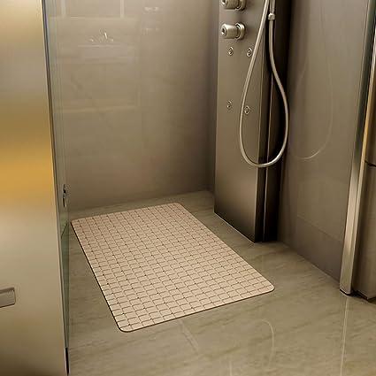 Amazon.com: DYW Rugs Simple and Modern Style Bathroom Trellis Mats ...