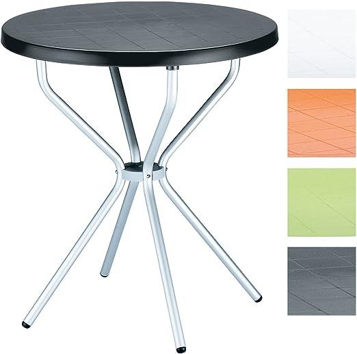 Tavolo Piccolo Da Giardino.Clp Tavolino Da Giardino Elfo In Plastica E Alluminio Tavolo