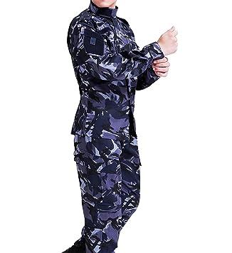 Amazon.com: osdream Ocean Camo Tactical traje/vestido ...