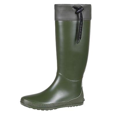 watch 82476 00ddc Women's Tall Rain Boots Soft Waterpoof Wellington Wellies Ultra Lightweight  Garden Boots