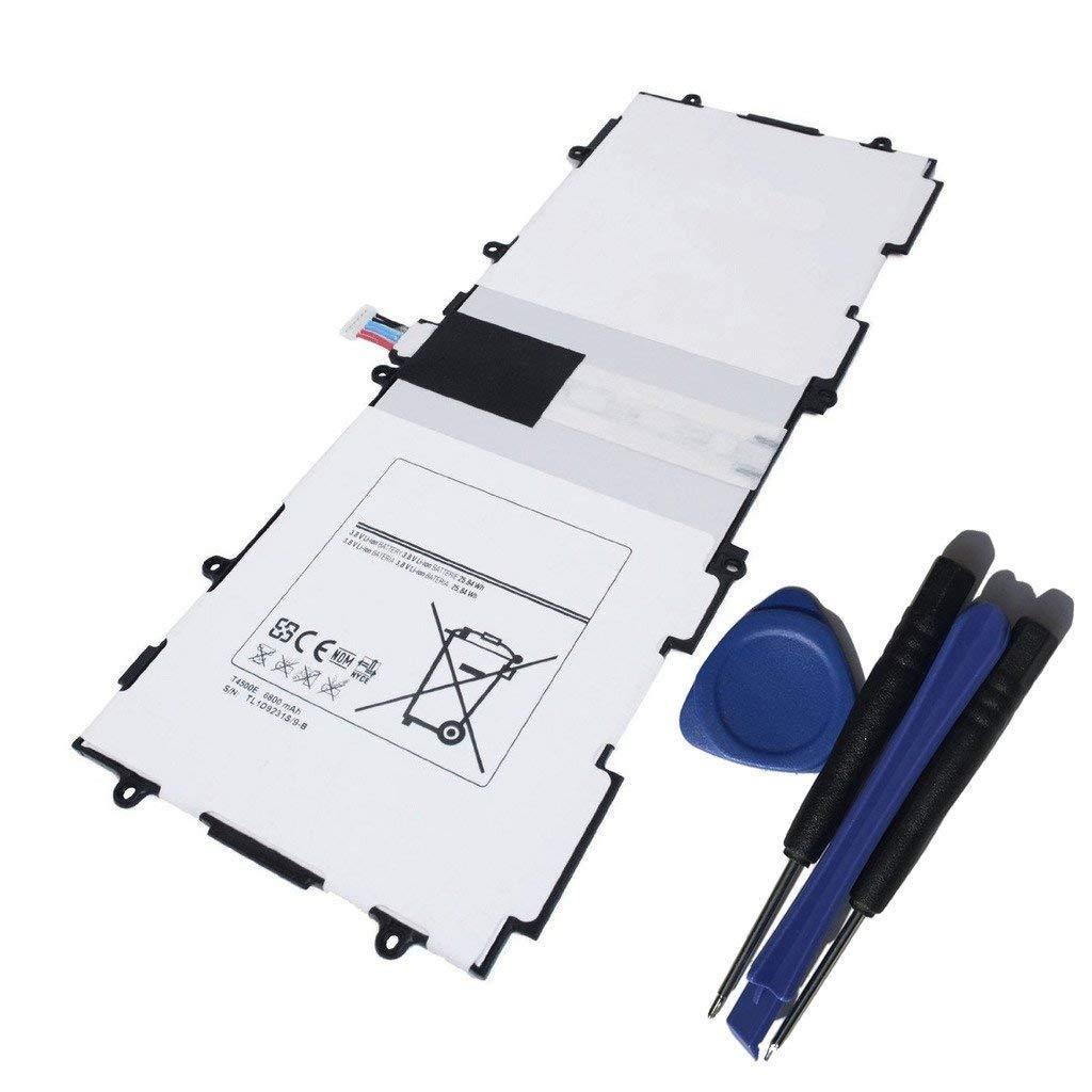 Bateria T4500e Para Samsung Note Tablet Tab 3 10.1 P5200 P5210 P5213 3.8v 6800mah Con Tools