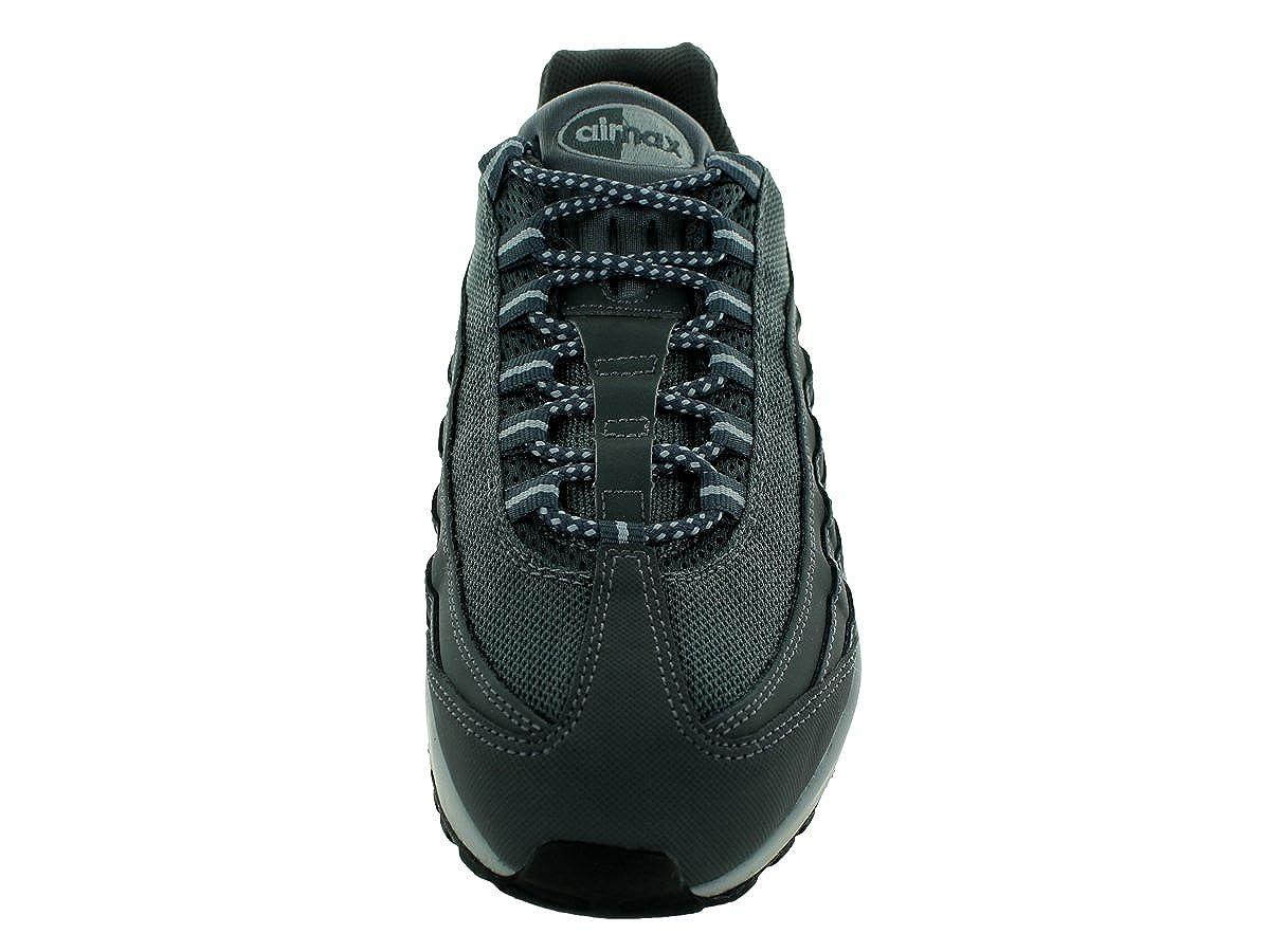 online store ae2e3 56d3f Amazon.com   Nike Men s Air Max 95 Running Shoes 609048 Dark Grey Wolf Grey  Black UK 8.5   Road Running