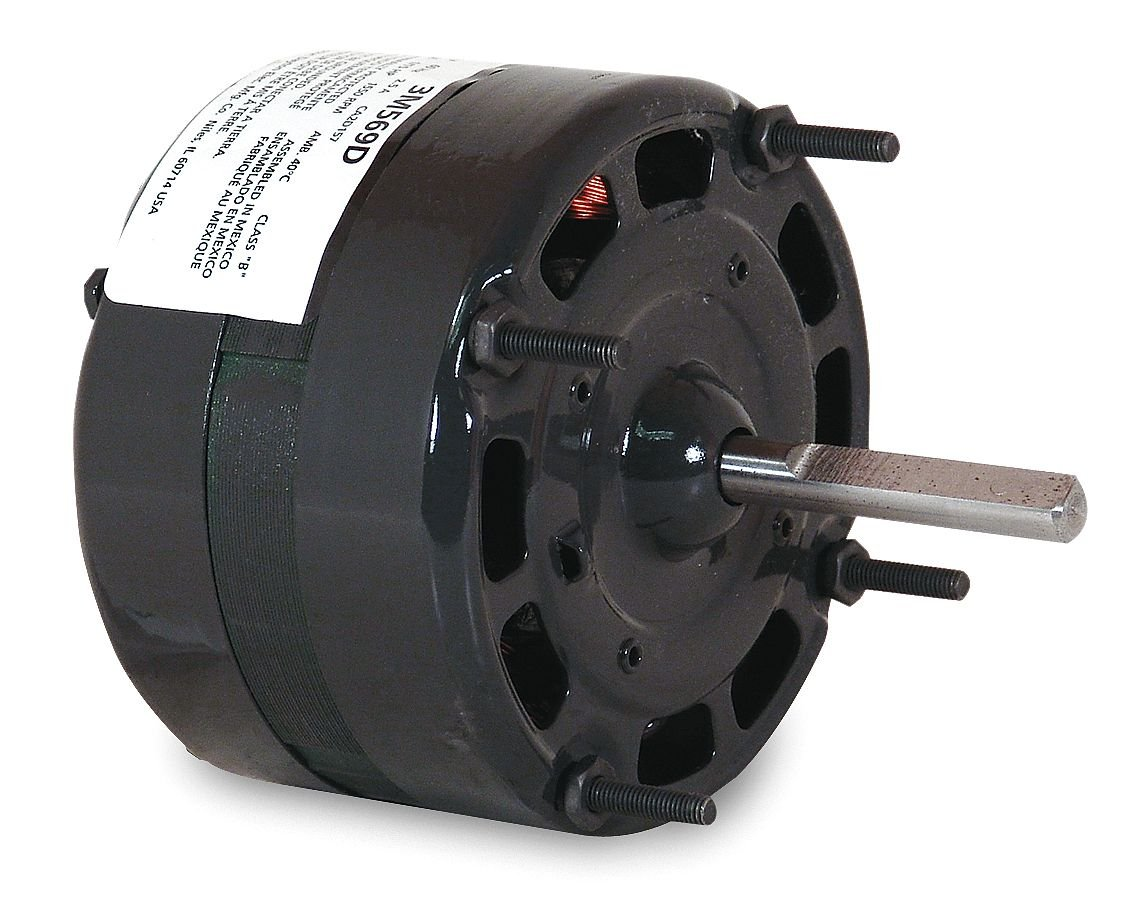 Dayton 3M569 HVAC Motor, 1/15 hp, 1550 RPM, 115V