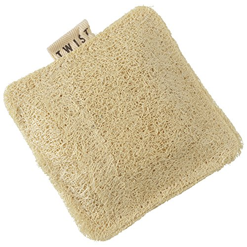 Twist, esponja vegetal, Beige, Pequeño, 1