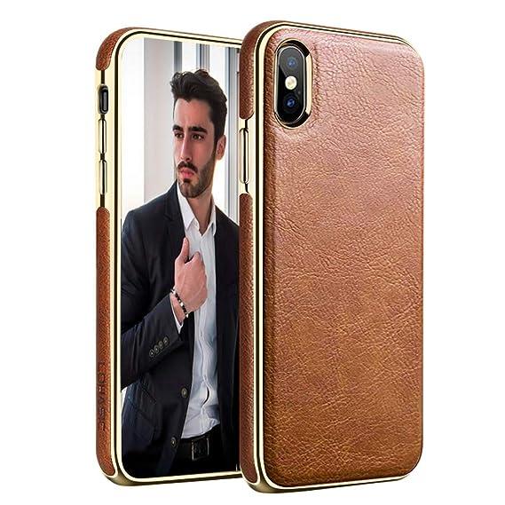 super popular d3f1d 73f29 Amazon.com: LOHASIC iPhone Xs Max Case, Premium Leather Luxury ...