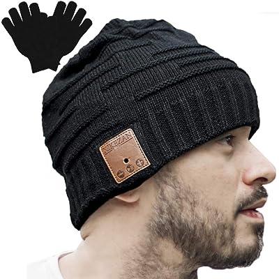 Unisex bluetooth beanie winter music hat headphones