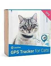 Tractive Traceur GPS pour chats - collier intégré avec mécanisme de rupture. Traceur étanche, retrouver chat avec appli et GPS localisation en temps réel
