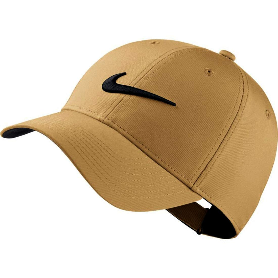 Nike Mens Golf Legacy91 Tech Adjustable Hat ( Color:Khaki/ Anthracite/ Black)