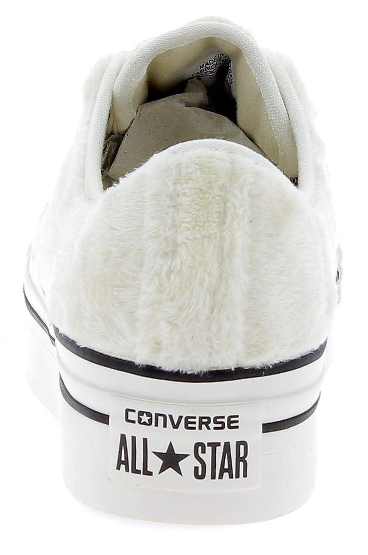 Converse - Converse Ctas Platform Ox schuhe Sportive Sportive Sportive damen Egret Bianche - Weiss 35 1fdb5a