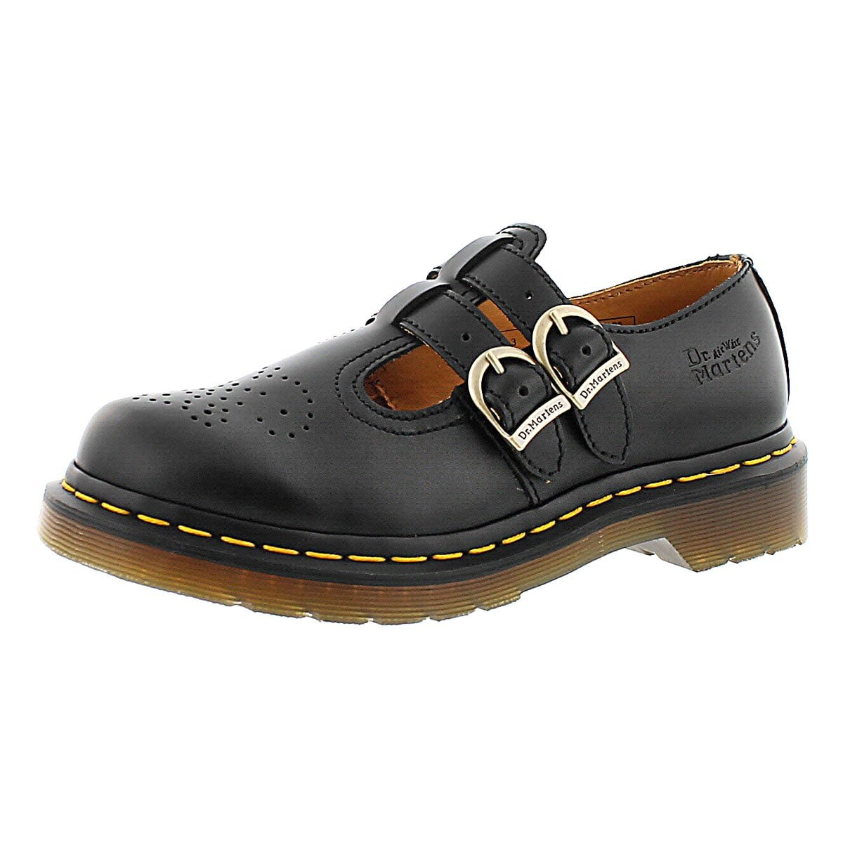 Dr. Martens Women's 8065 Mary Jane Black Ankle-High Flat - 8M