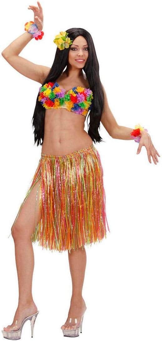 Falda de hawaiana de rafia para adultos disfraces de carnaval de ...