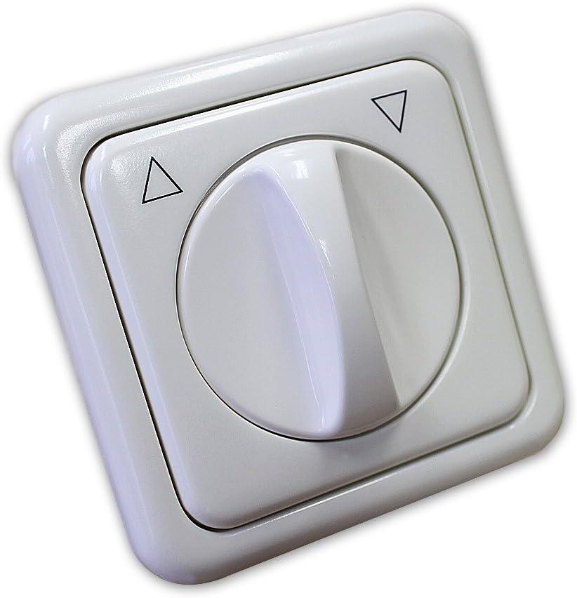 Knebelschalter mit Einfachrahmen f/ür Unterputzmontage