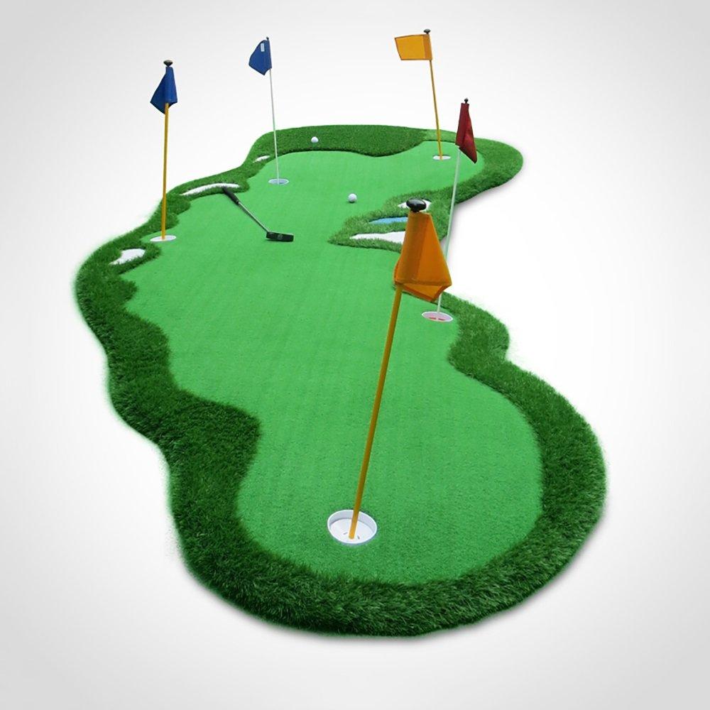 Golf Practice Mat Outdoor Swing Practice Blanket Simulation Sandpit Golf Practice Blanket 200 500cm