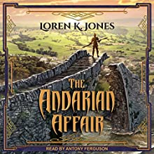 The Andarian Affair: Stavin DragonBlessed Series, Book 3 Audiobook by Loren K. Jones Narrated by Antony Ferguson