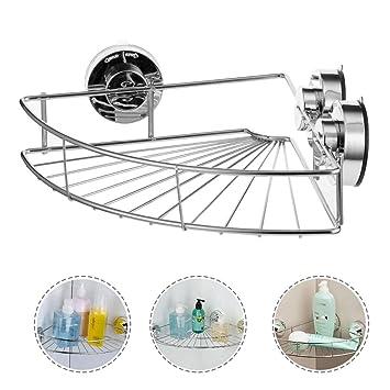 Fuloon トイレットペーパーホルダー ステンレス鋼製 紙巻器 ワンタッチ バスルーム用品 (黒)
