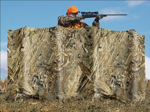 Camo Omnitex Blind Material for Duck Blinds - Realtree MAX-4 Camo (54'' x 12') by Allen Company (Image #2)