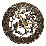 Woodridge 16-in Indoor Outdoor Wall Clock - 02232
