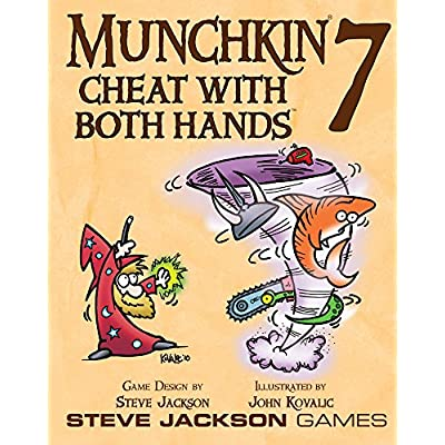 Munchkin 7 - Cheat With Both Hands: Toys & Games