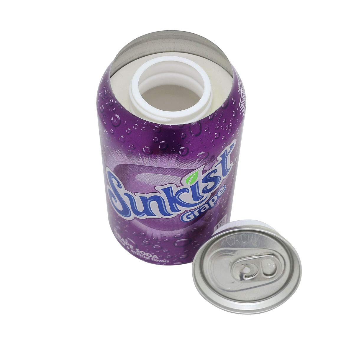 LYTIO Diversion Soda Can Lookalike Safe Stash: Hide Your Valuables in Plain Sight (Sunkist Grape)