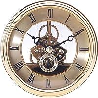 Deseos de movimiento, esqueleto transparente inserciones de reloj