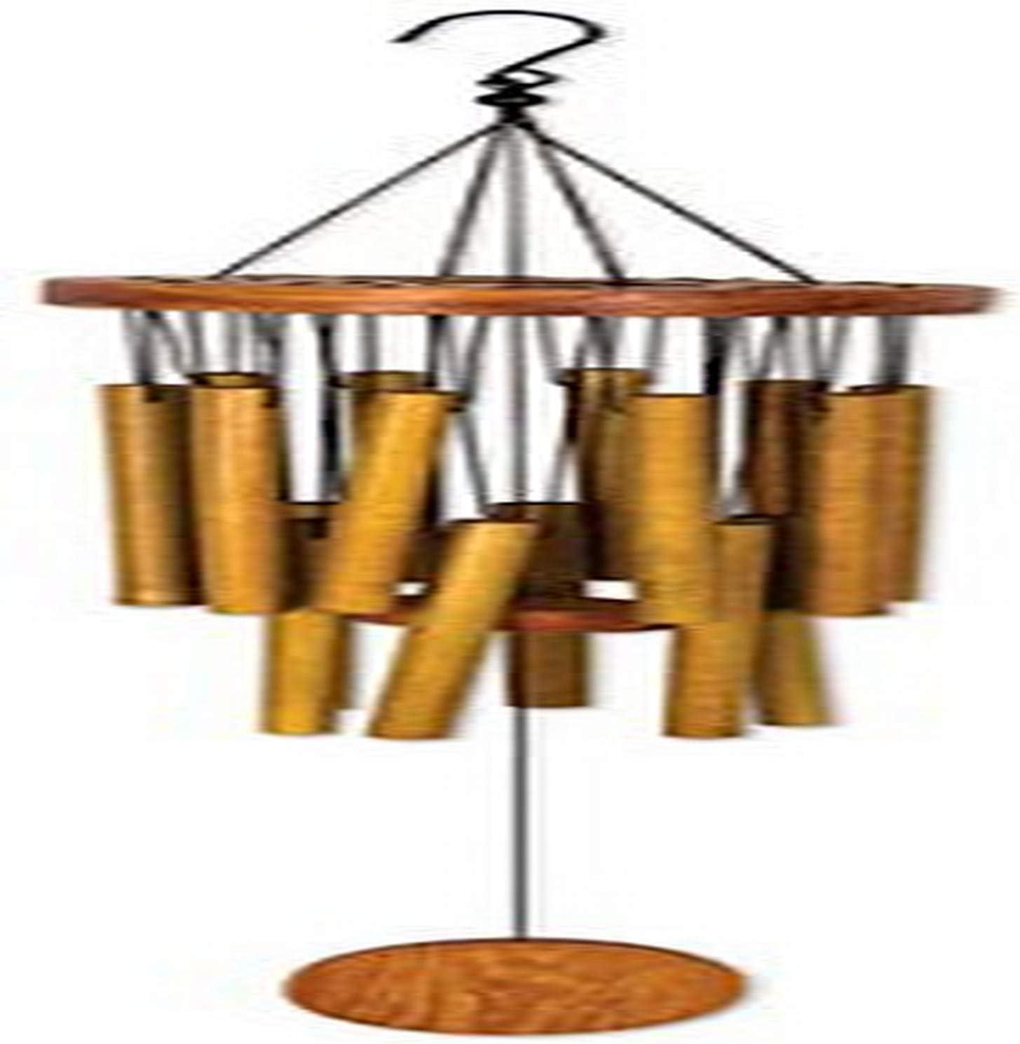 Amazon Com Sunset Vista Designs Circle Bamboo Wind Chime 26