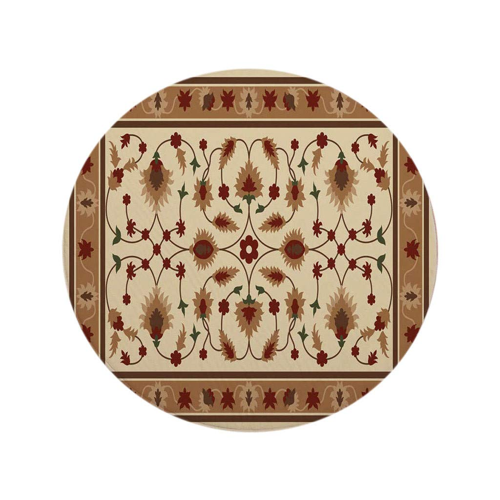 XIANAER Bedroom Rugs Soft Non-Slip Floor Mat Living Room Entrance Carpet Vintage Bohemian Art Home Decoration Washable by XIANAER