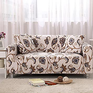 KateBastB Stretch Fabric Sofa Covers Slipcover Chair 3 Seater Protectors Couch Featuring