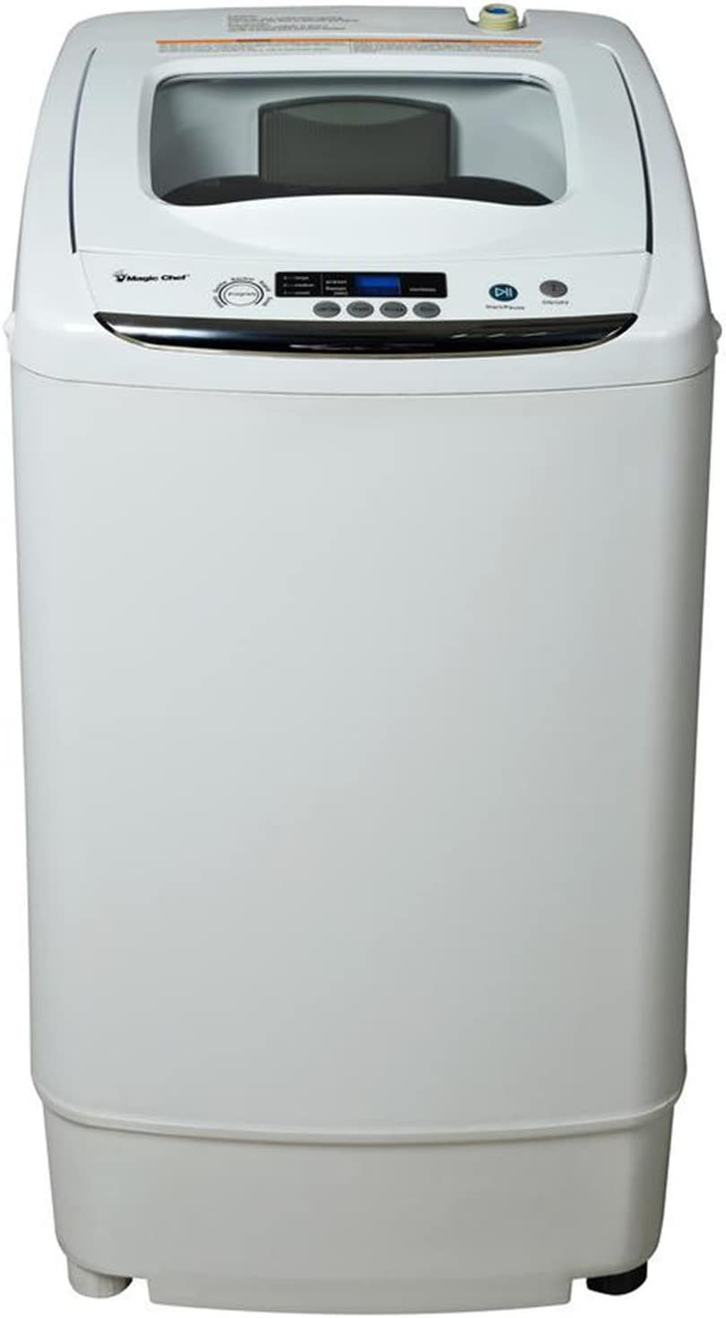 B073ZC16ZD Magic Chef White MCSTCW09W1 0.9 cu. ft. Compact Washer 61AqoGMmqfL.SL1500_