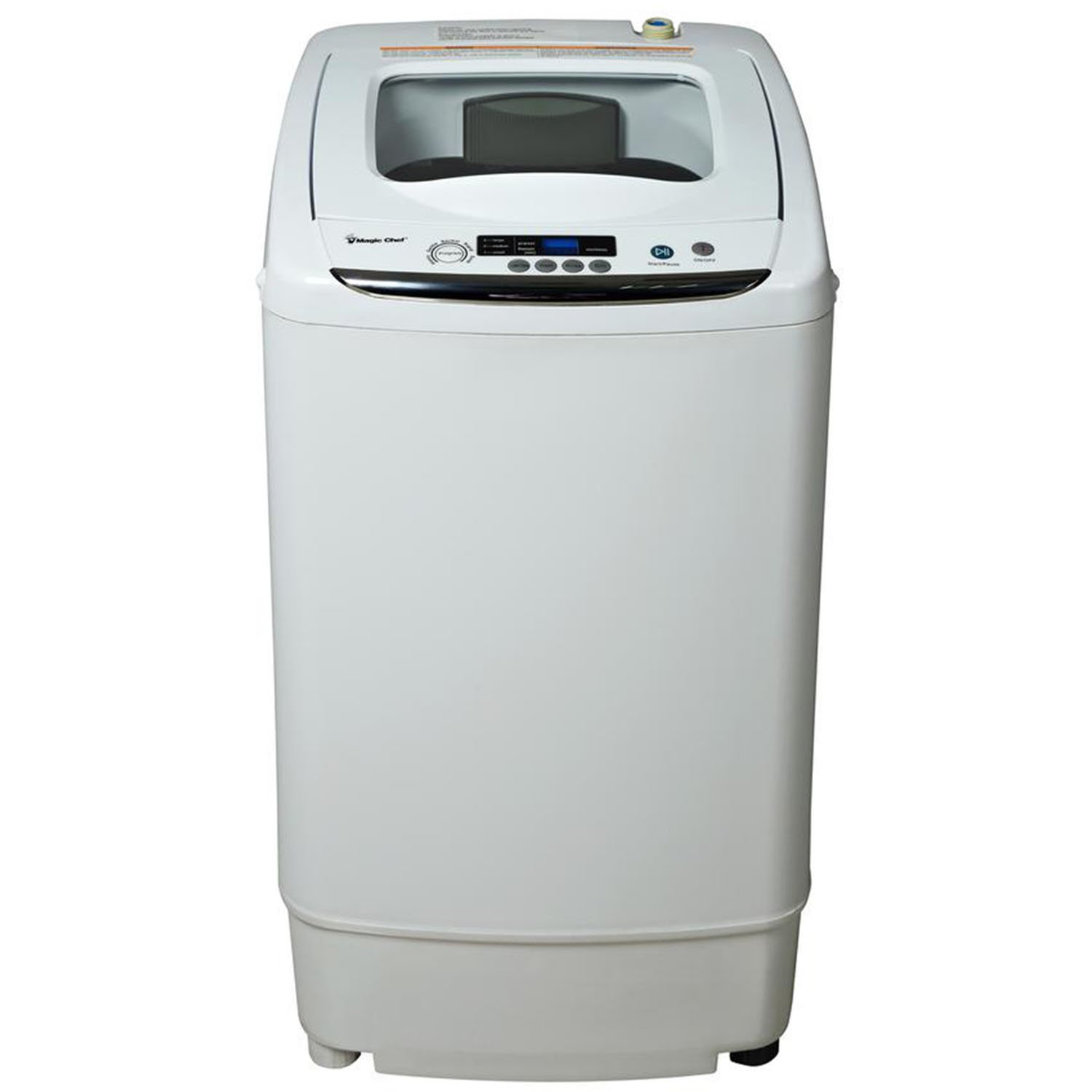 Magic Chef MCSTCW09W1 Compact Washer, 0.9 cu. ft. , White