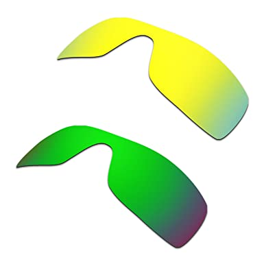 HKUCO Mens Replacement Lenses for Oakley Trillbe Red/Blue/Black/24K Gold/Emerald Green Sunglasses YHuauxyoH