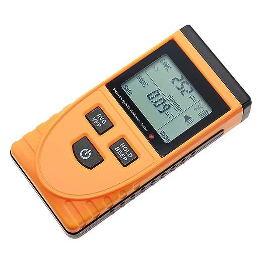 Digital Electromagnetic Radiation Detector EMF Meter Dosimeter Geiger Tester LCD