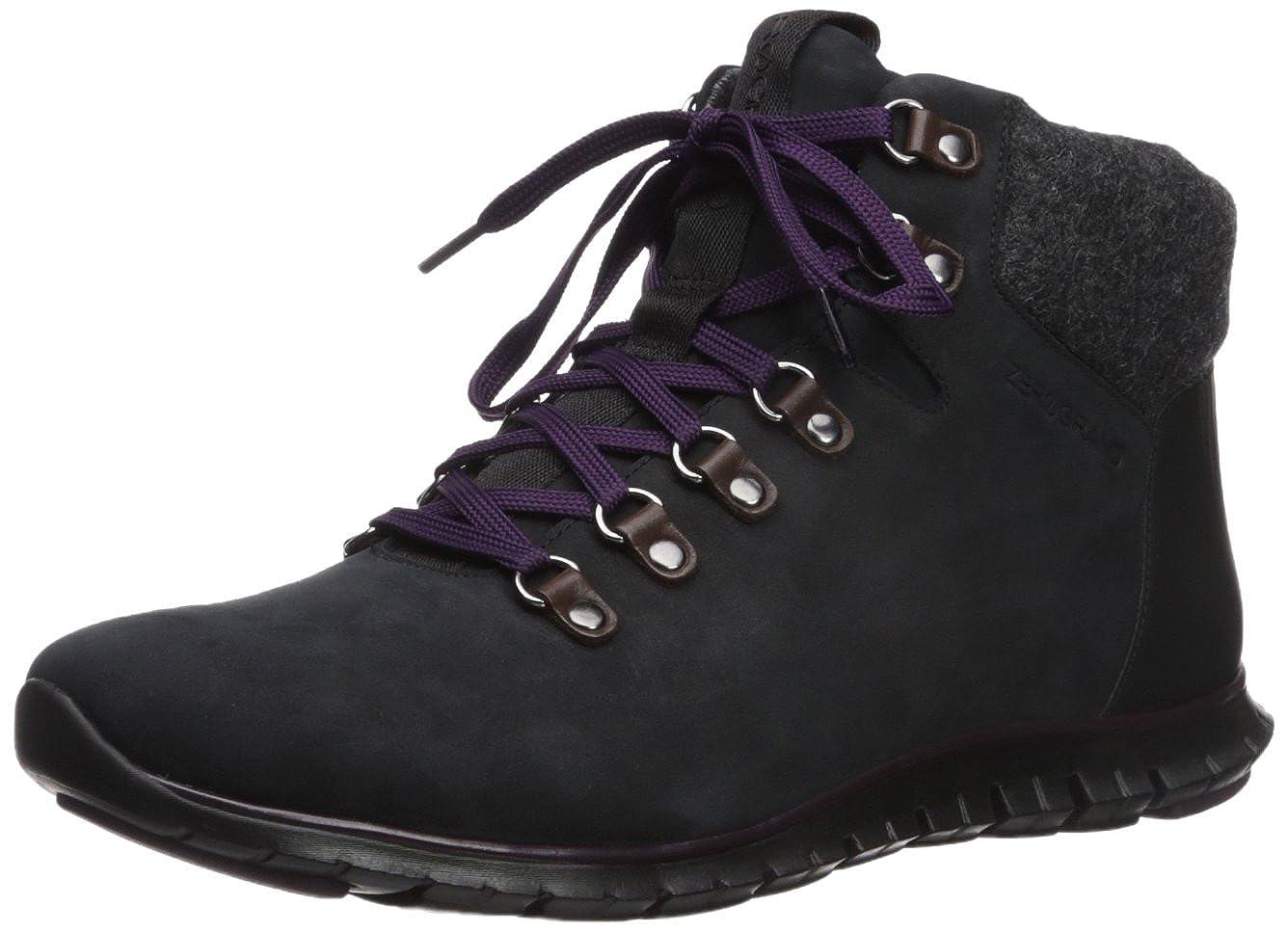 Noir Elderberry Cole Haan Zerogrand Hiker Waterproof démarrage baskets Chaussures US 6  UK 3.5   EU 36