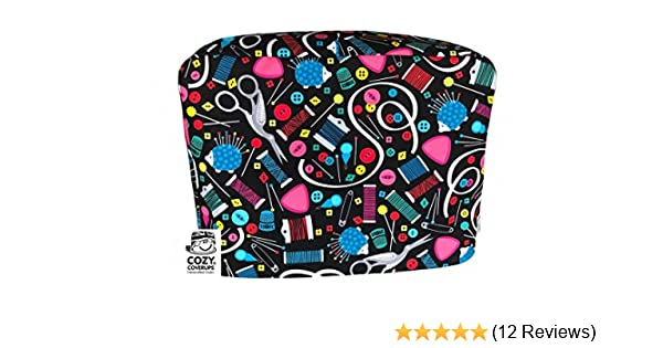 Amazon.com: Handmade Sewing Machine CozyCoverUp Dust Cover in Modern Haberdashery