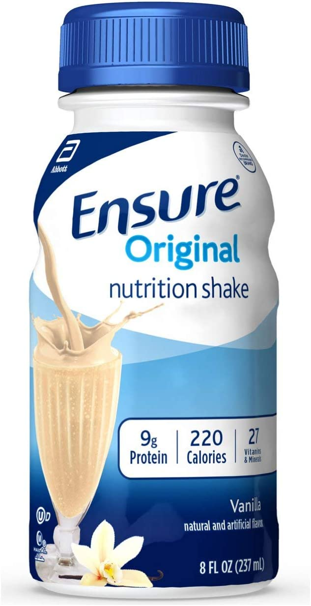 Ensure Original Nutrition Shake, Vanilla, 24 Count