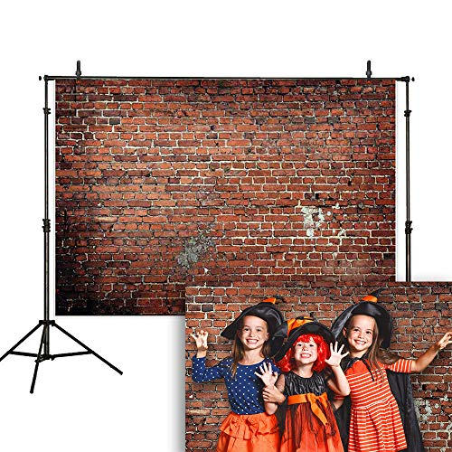 Allenjoy 7x5ft Old Brick Wall Photography Backdrop Retro