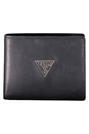 GUESS JEANS SM2501LEA24 Cartera Hombre NERO BLA UNI: Amazon ...