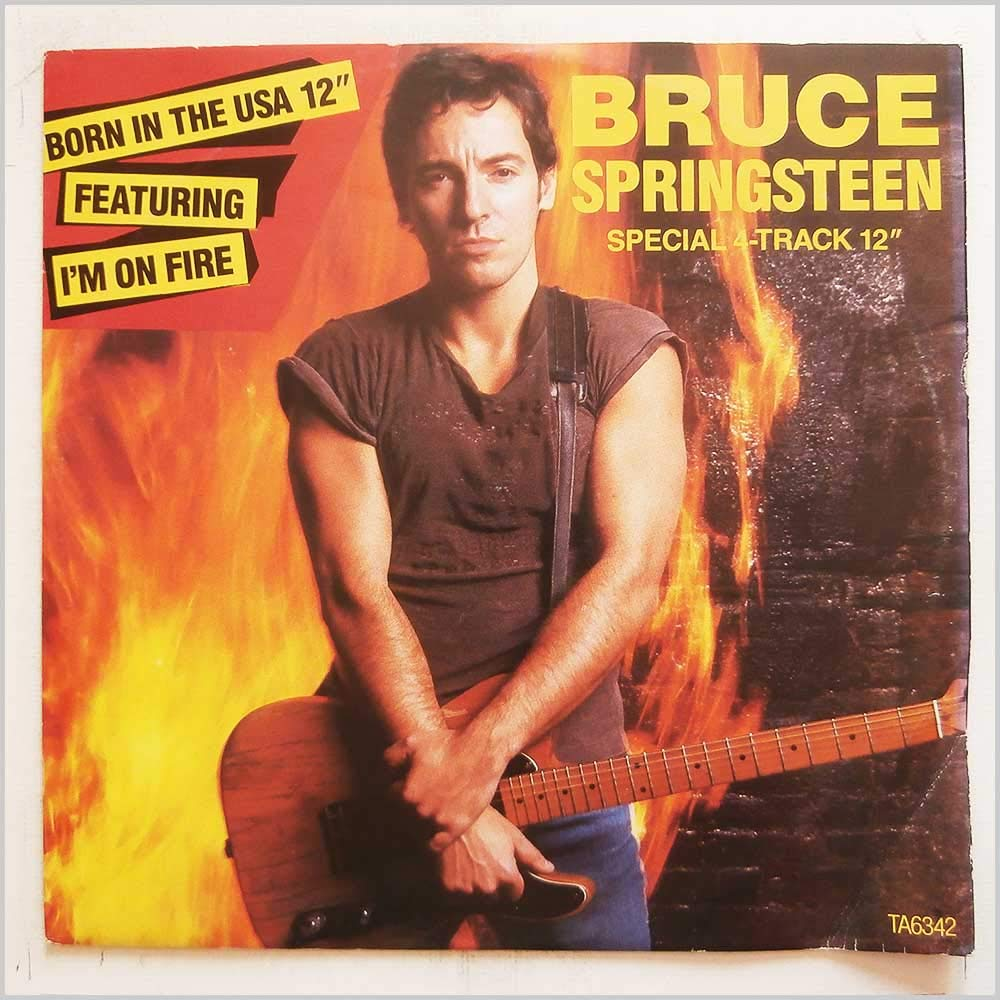 BRUCE SPRINGSTEEN i'm on fire / born in the usa, for the love of fire